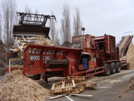 Collecte de bois - Romi recyclage